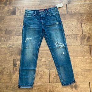 Women's Lucky Brand Sienna Ripped Slim Jeans SZ 25